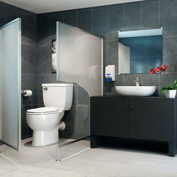 Saniflo Sanibest Sanibest Pro Toilet With Grinder Series Pump