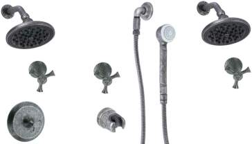Cifial  Brookhaven Custom Shower Package 3 image-1