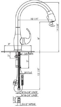 Whitehaus WHUS591M image-2