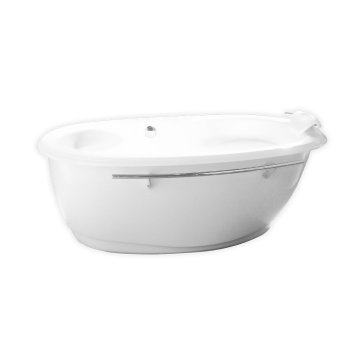 Maax 100084 004 Souvenir Freestanding Tub With Hydromax