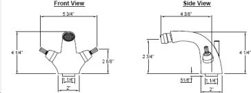 California Faucets 3604-MONO image-2