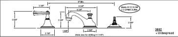 California Faucets 3802 image-2