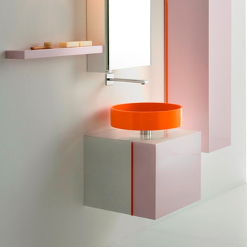 Sinks That Sit On Top Of Counter : How to Choose a Bathroom Sink: Part I - Abode