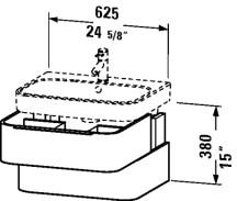Duravit H26364