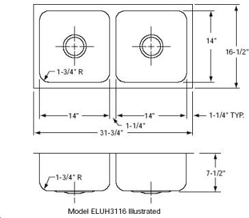 Elkay ELUH3116 image-2