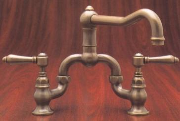rohl country kitchen bridge faucet rohl a1420 country bridge faucet 25593