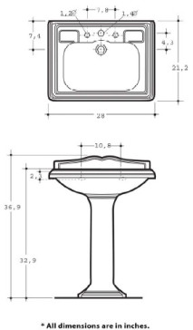 Whitehaus AR834-AR805 image-2