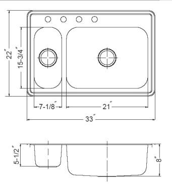 Houzer LHD-3322-1 image-3
