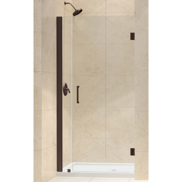 dreamline shdr 20307210 unidoor 30 24 inch shower door with 6 stationary panel. Black Bedroom Furniture Sets. Home Design Ideas