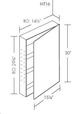 Robern MC1630D8 image-4
