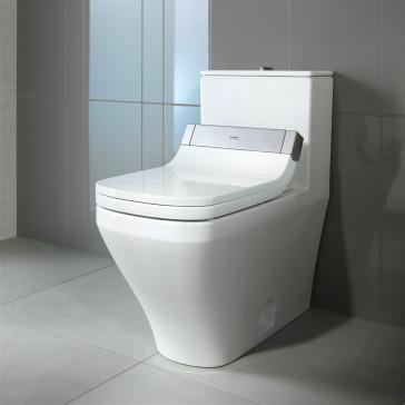 duravit 2157510005 one piece toilet with sensowash starck c. Black Bedroom Furniture Sets. Home Design Ideas