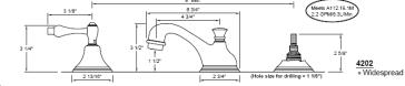 California Faucets 4202 image-2