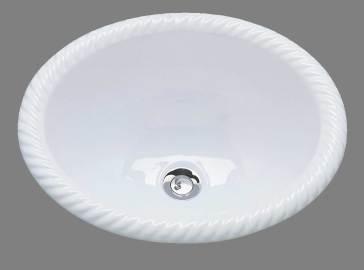 Bates P1815 Artistry In Ceramics Cheryl Drop In Plain Bowl