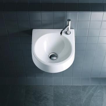 Duravit 076635 architec wall mount handrinse basin for Duravit architec sink