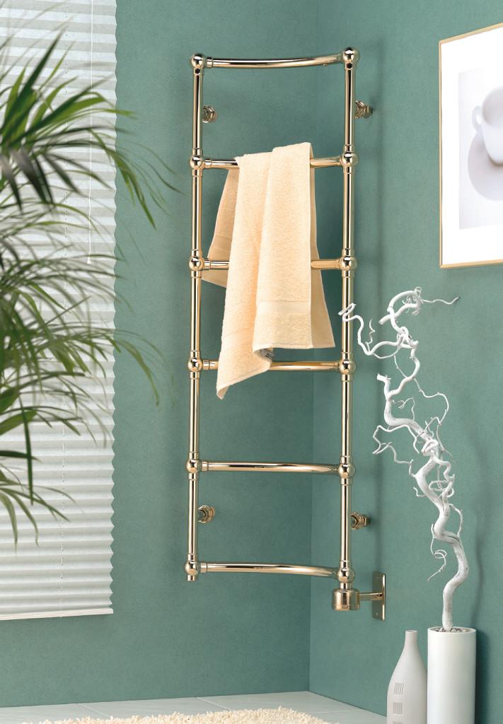 corner towel warmer