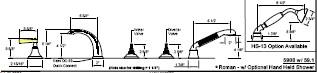 California Faucets 5904-MONO image-2