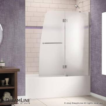 Dreamline Shdr 3148586 Aqua 48 Quot Hinged Tub Door
