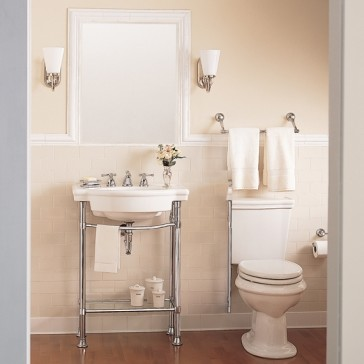 american standard 0282 retrospect 27 bathroom console table sink