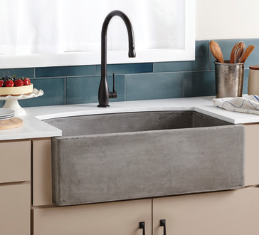 Discount Apron Front Sink : ... Trails NSKQ3320 Native Stone 33