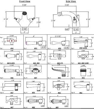 California Faucets 3504-MONO image-2