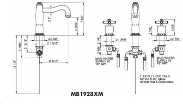 Rohl MB1928XM image-2