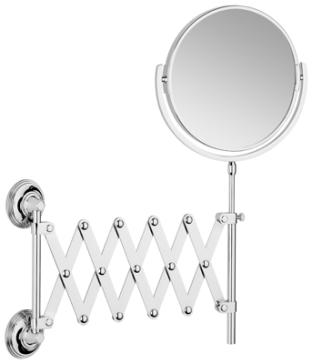 Samuel Heath L6708 CNB Style Moderne Extending Mirror Plain Magnifying X5