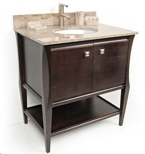 Dvontz sh1130 es sahara espresso bathroom vanity for Dvontz bathroom vanity