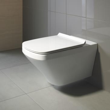 Duravit 2537090092 Durastyle Wall Mounted Toilet
