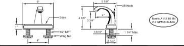 California Faucets 6901 image-3