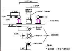 California Faucets 3604 image-2