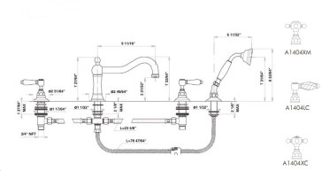 Rohl A1404 image-2