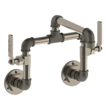 Watermark 38 2 25 Elan Vital Bridge Wall Mount Kitchen Faucet