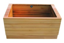 WS Bath Collection Madera Carre M6
