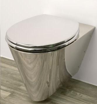 Neo Metro 8952 W 1 Miniloo Commercial Stainless Steel Toilet