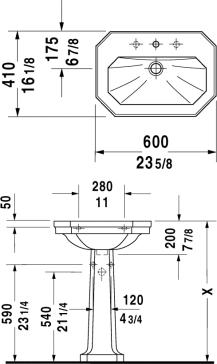 Duravit 043860 set image-10
