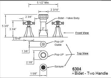 California Faucets 6304 image-2
