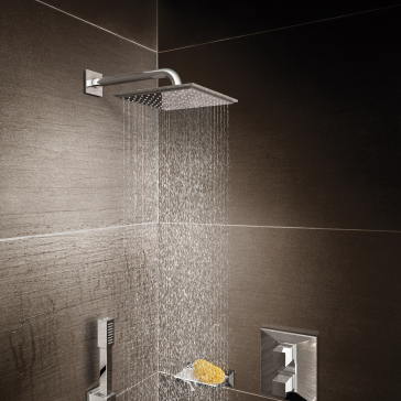 grohe 27480000 rainshower allure 210 shower head. Black Bedroom Furniture Sets. Home Design Ideas