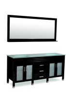 Belmont Decor DM1D3-72/BLK