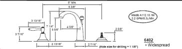 California Faucets 6402 image-2