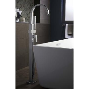 American Standard 7184 951 Contemporary Square Tub Filler