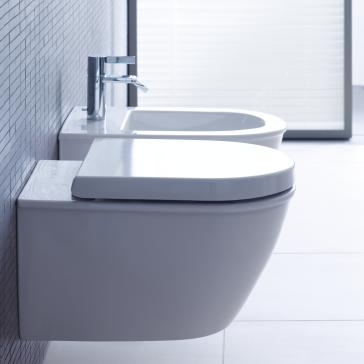 Duravit 2545090092 Darling New Wall Mounted Toilet