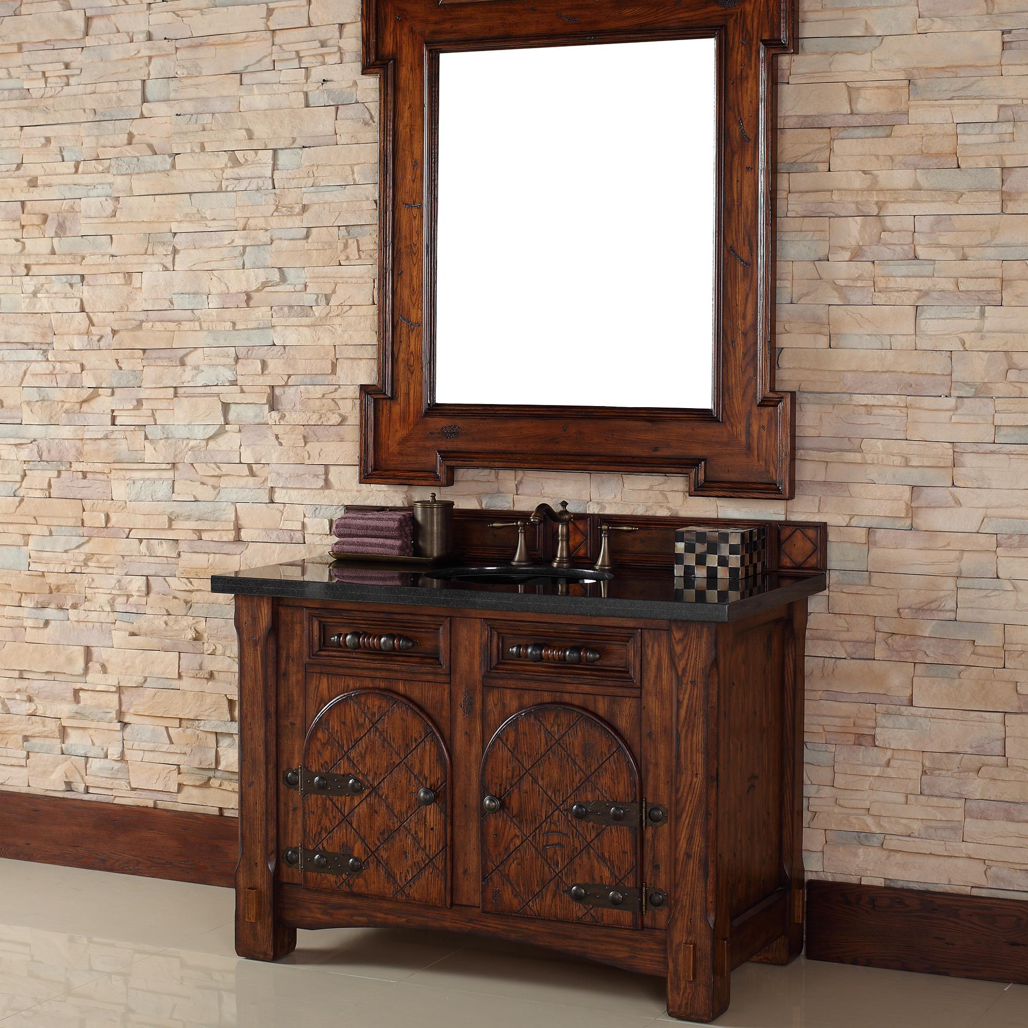 Go vintage with an elegant antique vanity abode for Vintage vanities for bathrooms