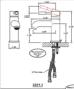 California Faucets 6201-1 image-2