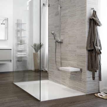 Wetstyle Dg6032 Glacier Collection Zero Threshold Shower Receptor With Integrated Linear Style