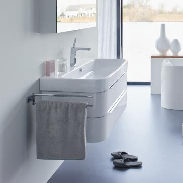 duravit cabinets bathrooms duravit h26366 happy d 2 38 3 8 quot wall mounted vanity unit 15089