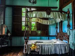 Balay Negrense -master's bedroom
