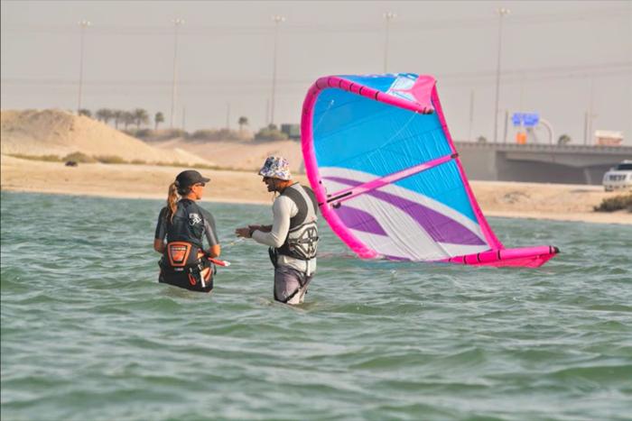 Kitesurfing UAE