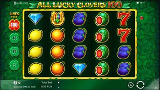 All Lucky Clovers Slot