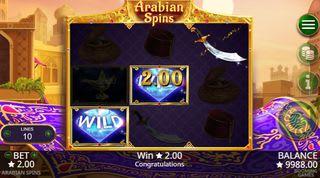 Arabian Spins Slot