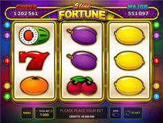 5 Line Fortune Slot